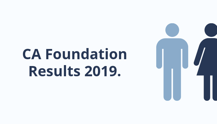 CA Foundation Result June 2019