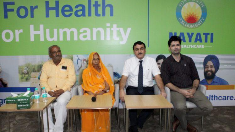 elbow transplant at Nayati Medicity